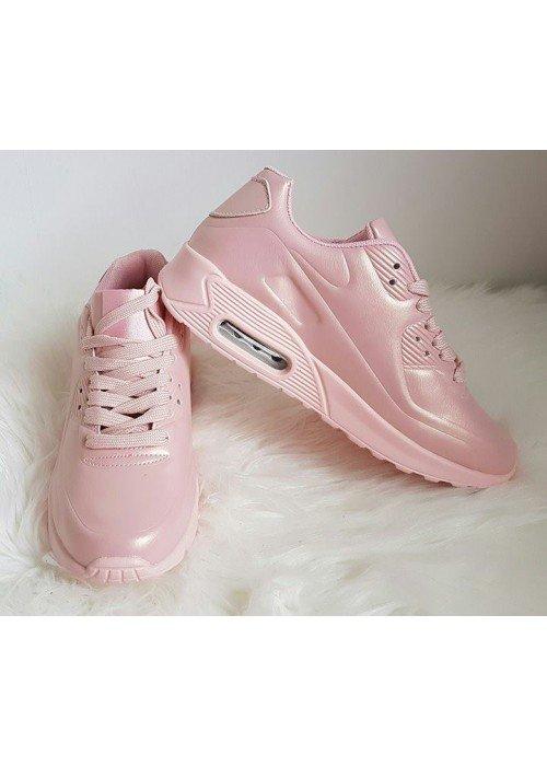 botasky v štýle air max perleťovo ružové