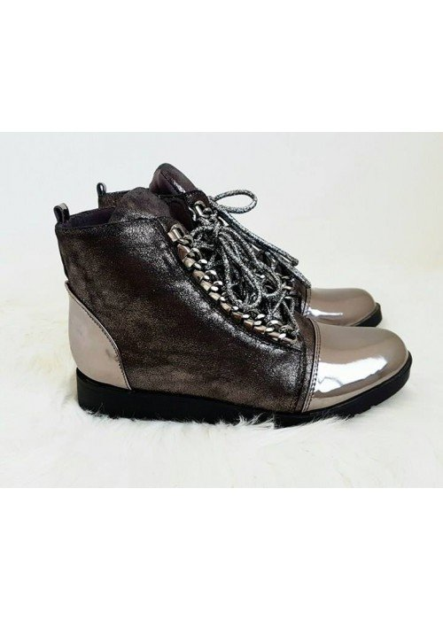 Vyvýšené metalické topánky Bonnie