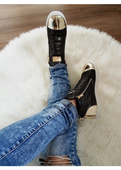 Zateplené topánky Lady čierne