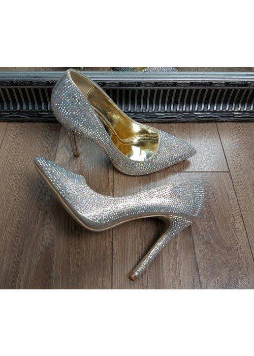Lodičky s kryštálikmi Cinderella