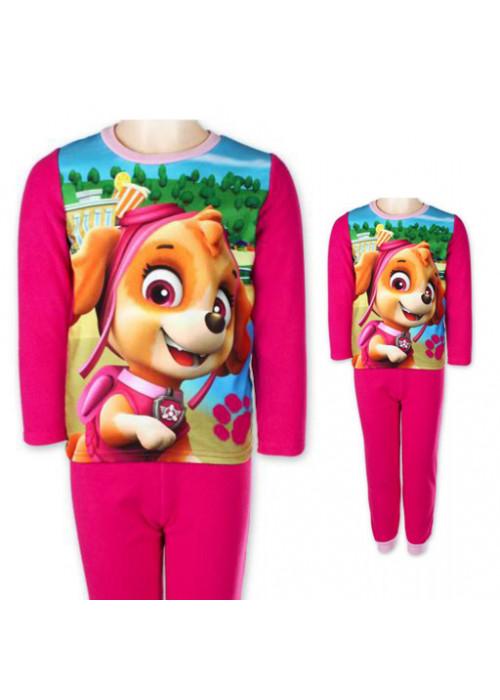 Paw Patrol dievčenská pyžama fuchsiová