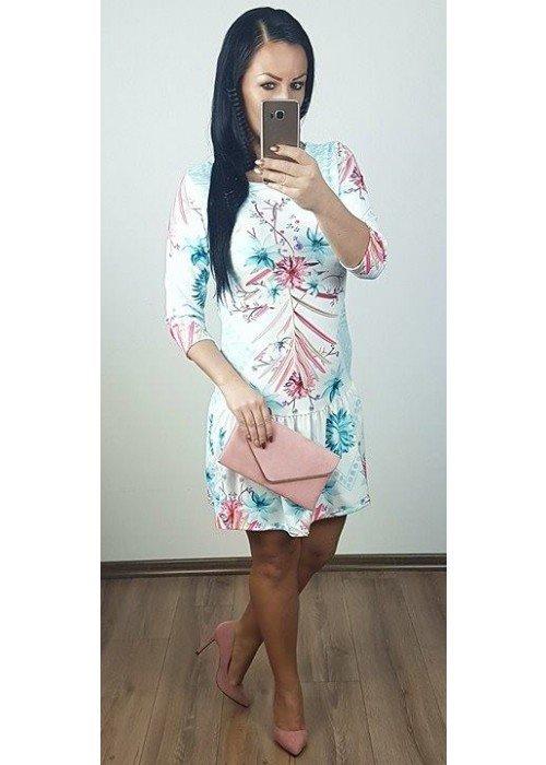 Šaty s potlačou Spring