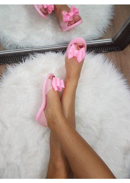 Gumené balerínky s mašličkou Bona ružové