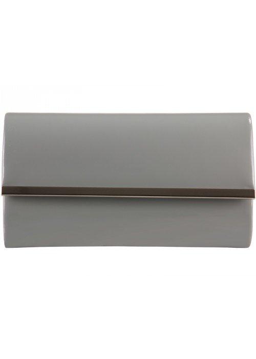 Listová kabelka Sonya sivá