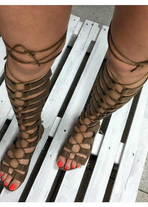 Hnedé gladiatorky Nice