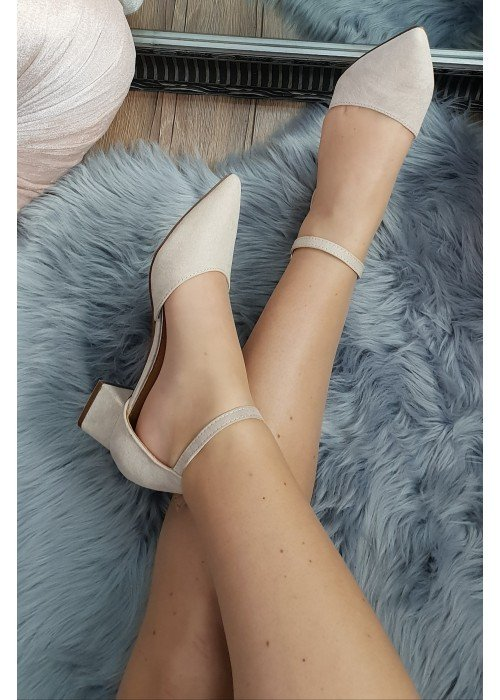 Béžové sandále Olla