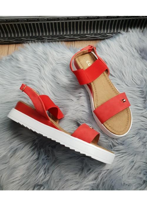 Sandále Tommy červené