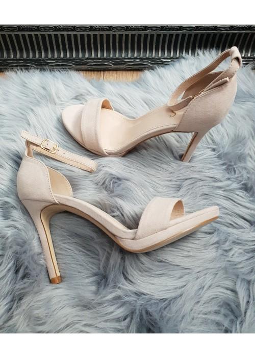 Béžové sandále Janice