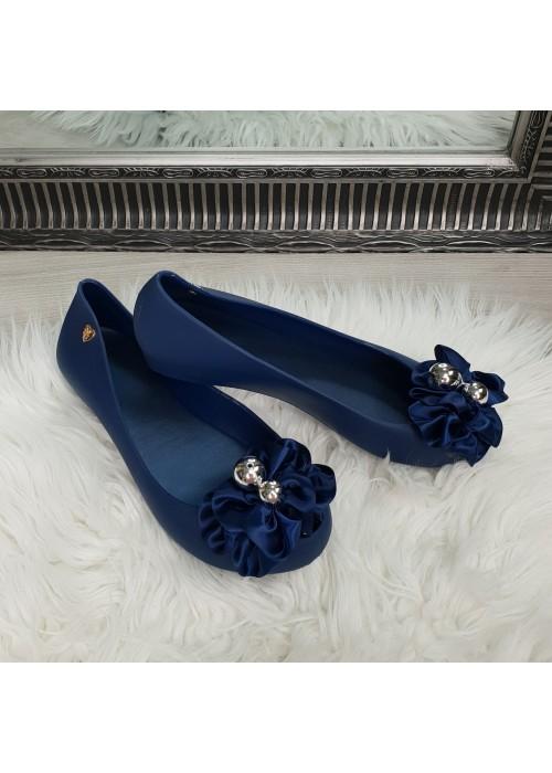 Gumené balerínky Elza modré