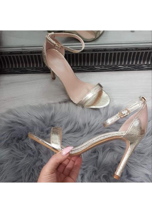 Zlaté sandále Nataly