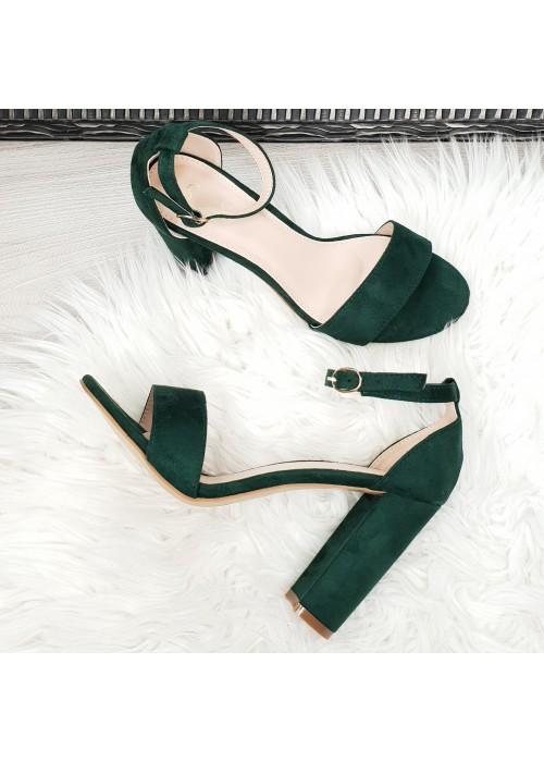 Zelené sandále Dalia