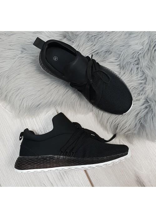 Štýlové botasky Adinas čierne
