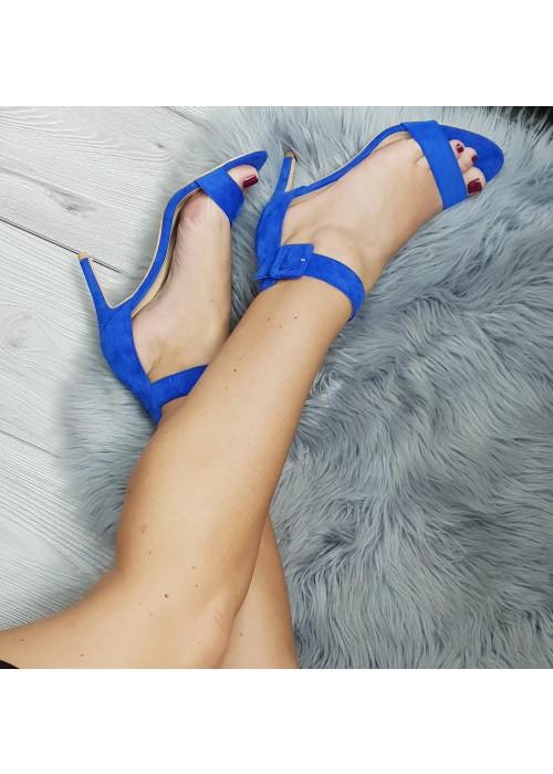 Kráľovské modré sandále Timea