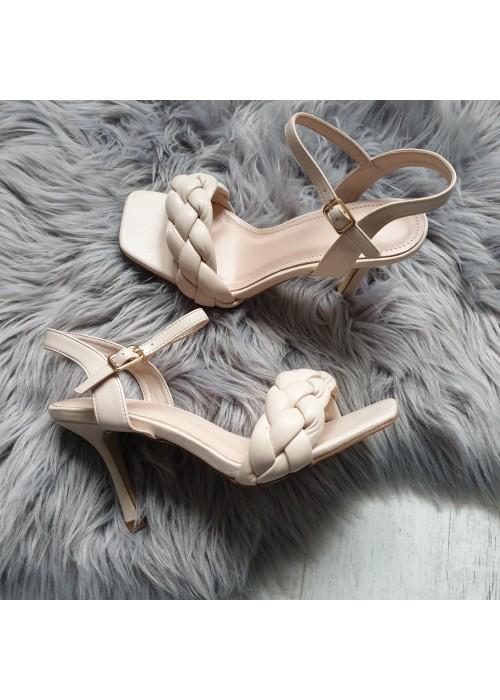 Béžové sandále Celine