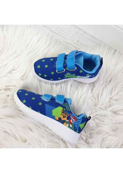 Chlapčenské botasky Paw Patrol tmavo modré
