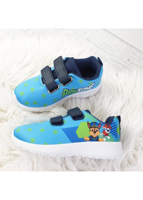 Chlapčenské botasky Paw Patrol svetlo modré