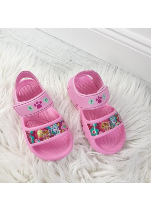 Dievčenské sandálky Paw Patrol ružové