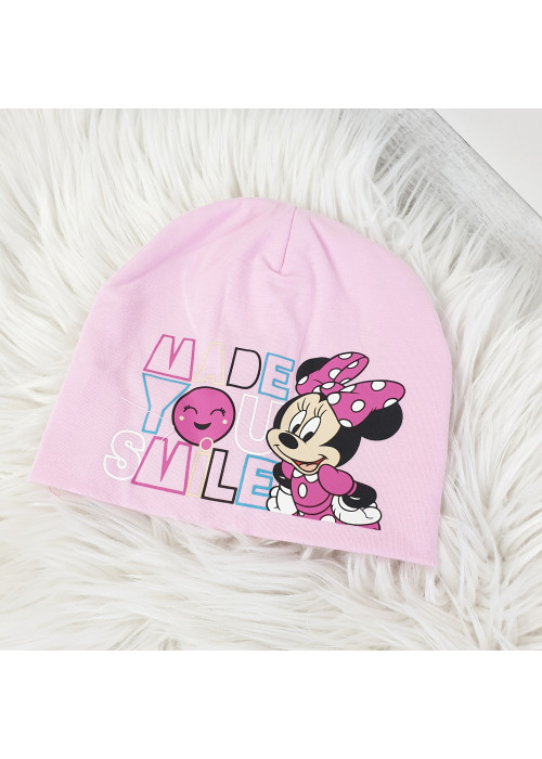 Detská čiapka Minnie ružová