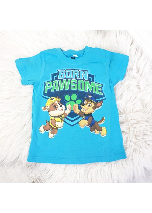Chlapčenské tričko Paw Patrol svetlo modré