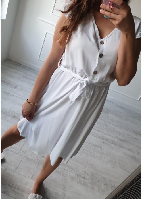Letné šaty Athene biele