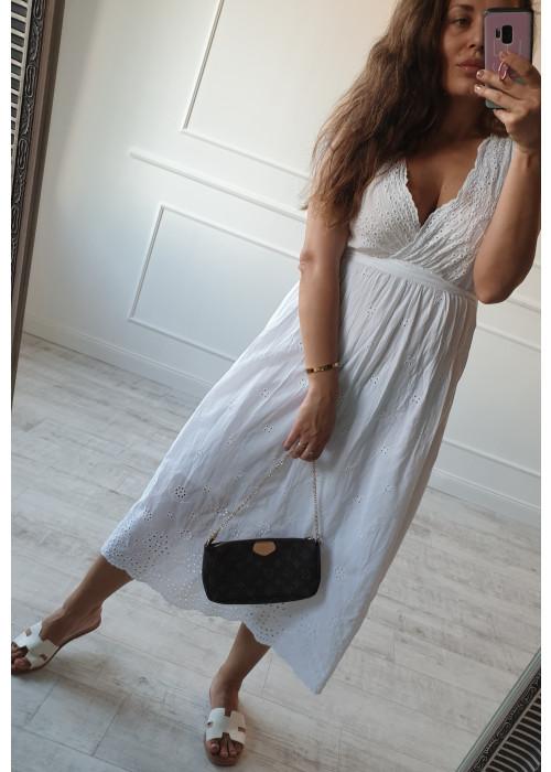 Biele šaty Madeira