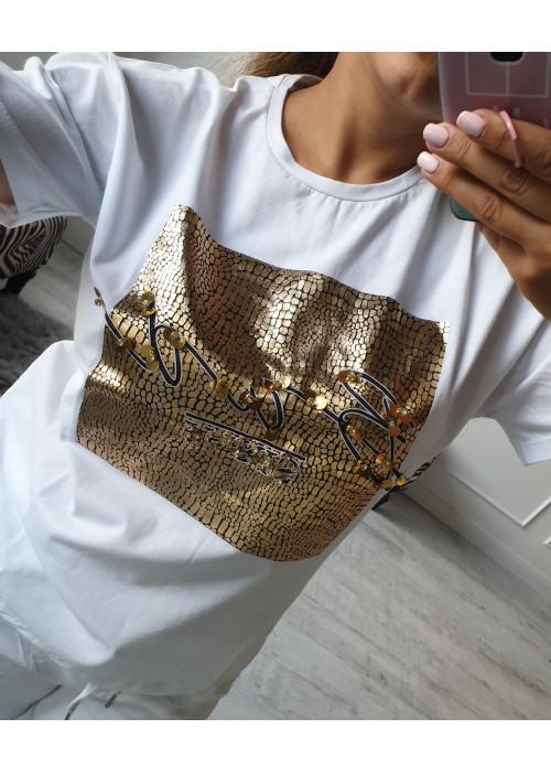 Štýlové tričko golden