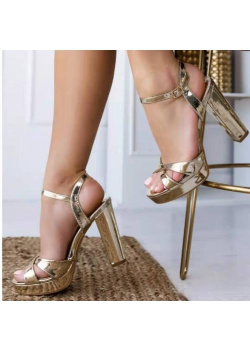 Zlaté sandále Renny