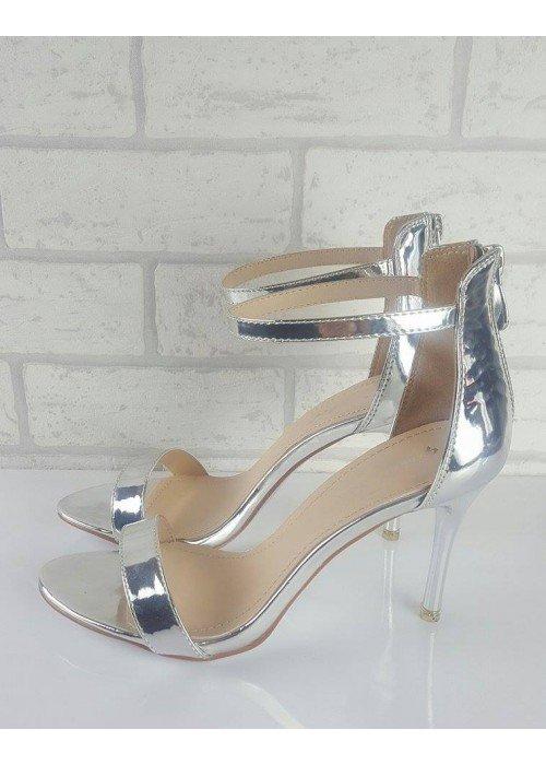 Strieborné sandále Irina