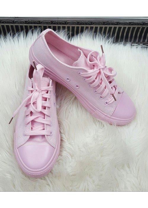 svetlo ružové tenisky Kyran