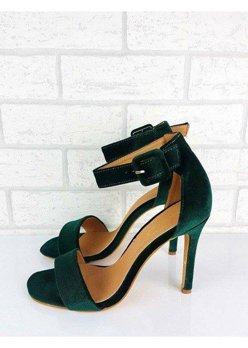 Zelené sandále Patricia