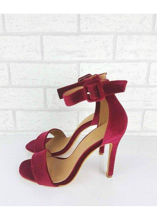 Bordové sandále Patricia