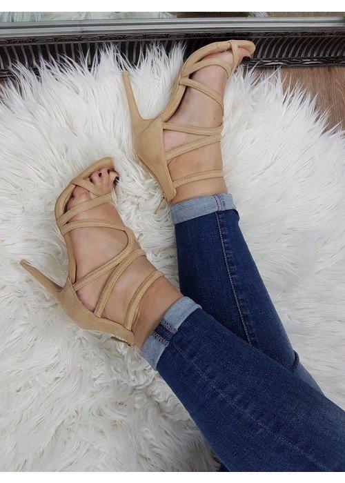Béžové sandále Rita