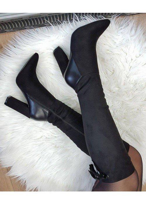 Čierne čižmy Mary