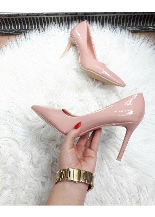 Púdrovo ružové lodičky Karin