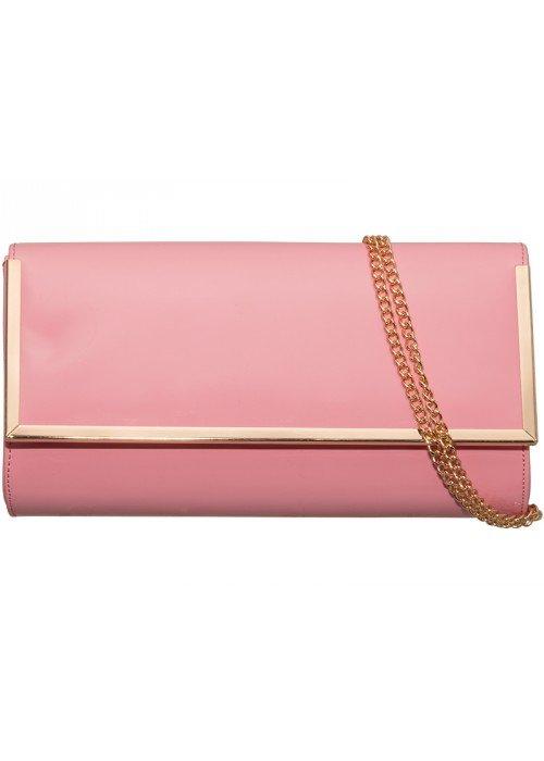 Listová kabelka Vera ružová