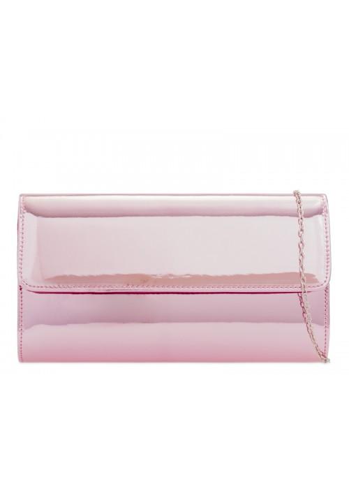 Ružová zrkadlová kabelka Chloe