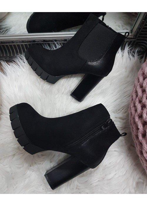 Čierne kotničky Emily