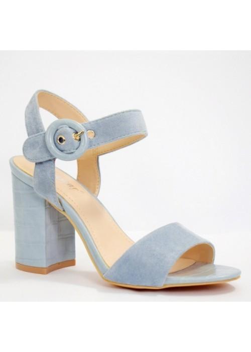 Modré sandále Gina