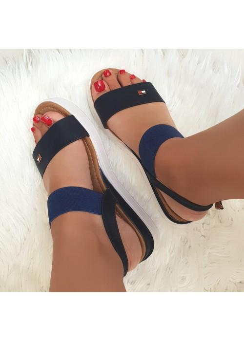 Sandále Tommy modré