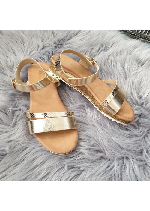 Zlaté sandále Amira