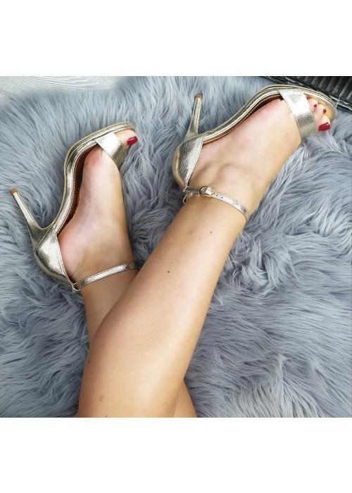 Zlaté sandále Anissa