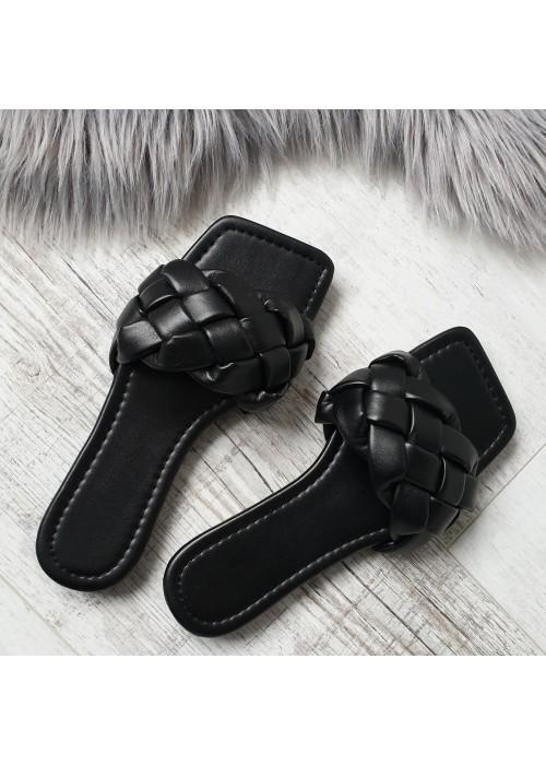 Čierne šľapky Botty