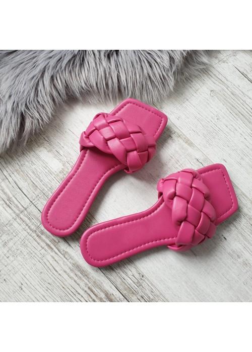 Ružové šľapky Botty