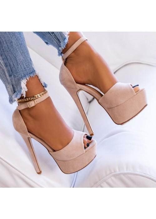 Béžové sandále Alexia