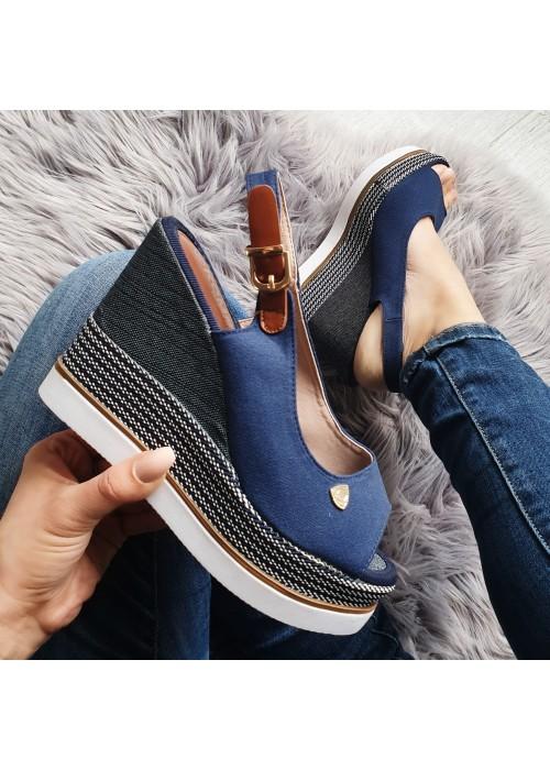 Platformové sandále Nabla