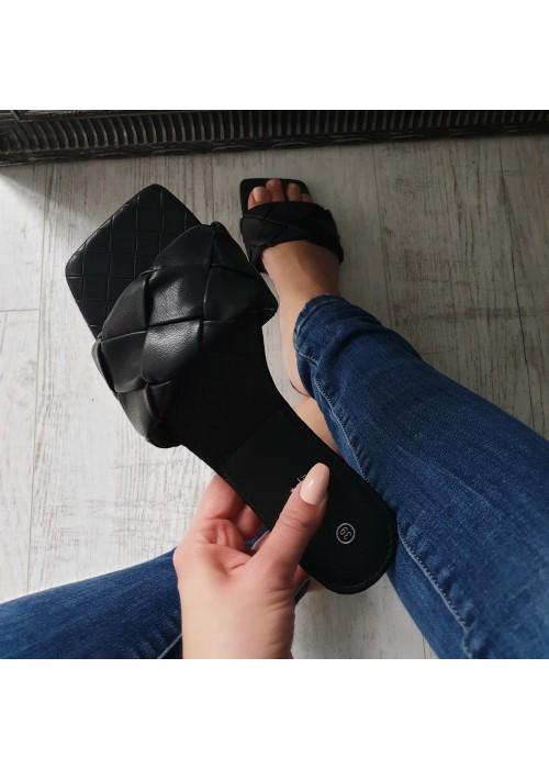 Čierne šľapky Ismir