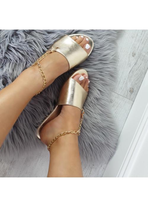 Zlaté šľapky Rita