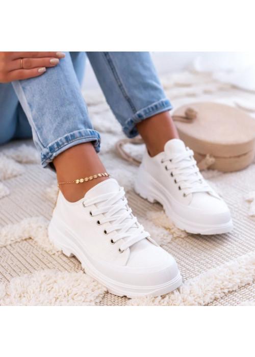 Biele tenisky Lana