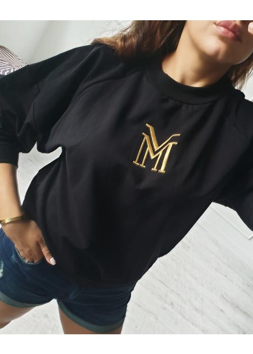 Mikina Manuel čierna