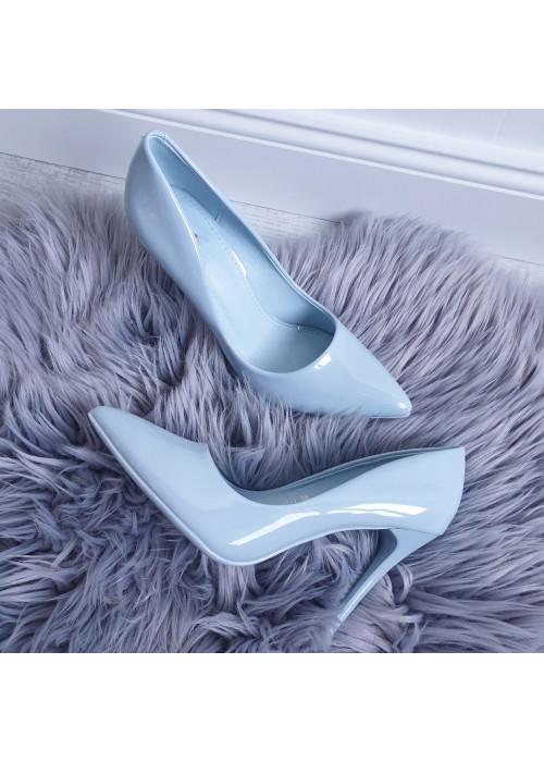 Svetlo modré lodičky Lea